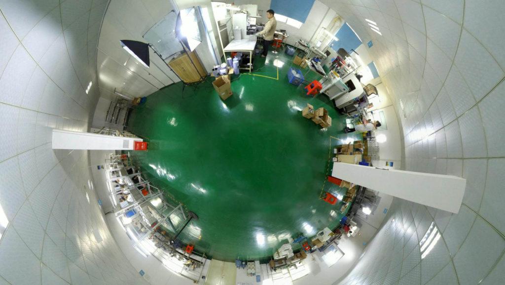 LCD COB Binding Workshop VR Tour